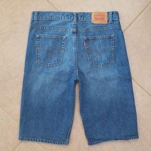 Mens Levis 505 Jean Shorts